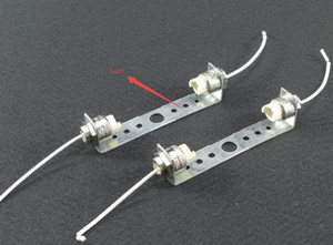 5sets r7s lamp holders @ lamp bases for stage light 78 118mm