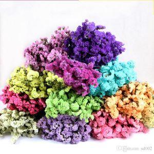 Inicio Pequeñas Flores falsas Exquisito Ramo de flores secas Plantas de arte para la boda Favores Decoración del partido Apoyos de la fotografía 4mf ff