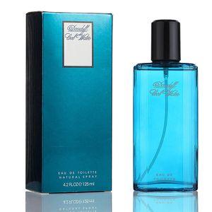Fragrância encantadora, viril, duradoura, fragrância do oceano, Perfume Masculino de Colônia 125ml