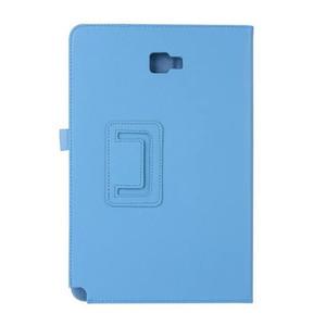 Caso de qualidade para samsung galaxy tab a6 10.1 spen p580 p585 dobrável suporte de couro tablet capa protetora