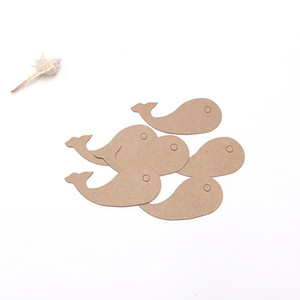 200pcs lot Handmade DIY Charm Jewelry Tags 3 Colors Paper Wedding Christmas Decoration Cute Price Labels.