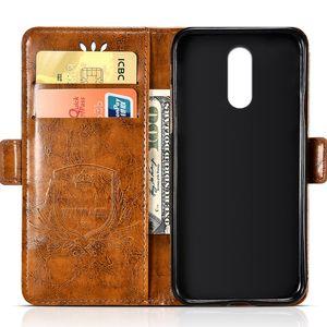 Vente en gros Vintage Étui En Cuir À Gaufrage Pour Lenovo K6 \ K6 Cas Silicone Souple Pour Lenovo K8 Note Couverture Téléphone Cas Sacs