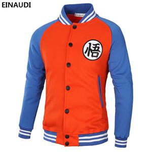 EINAUDI New 2018 Brand Coat Casual Anime Male Outwear Hip-hop Man Baseball Jackets Cotton Harajuku Sweatshirts