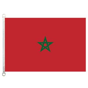 [좋은 국기] 모로코 플래그 배너 3X5FT - 90x150cm 100 % 폴리 에스터 국가 플래그, 110gsm 워프 니트 직물 실외 플래그