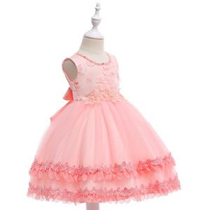 Blumenmädchenkleider für Hochzeiten Wolke Kleinkind Kinder Erstkommunion Kleider Pageant Kleid Abendkleid für Kleines Mädchen