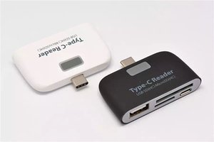 Neue USB 3.1 Typ C Hub TF SD Micro USB Port Adapter Combo Kartenleser mit OTG Funktion für Android Phone PC