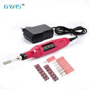 Prego eletrônico Sistema de Cuidados 6 Sondas de substituição Manicure Pedicure Prego Buffer Arquivo Ferramentas Art polisher broca caneta