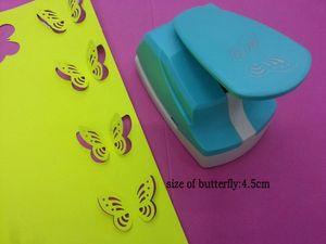 """2 """"forme de papillon 3D de poinçons de papier perforé artisanat scrapbooking puncher DIY punchers faits à la main EVA mousse punch cutter"""