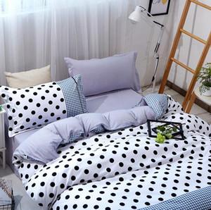 New Flower Fruit Print 4pcs bedding sets bedclothes for kids Bedding Supplies Duvet Cover Bed sheet Pillowcase Home Textiles Wholesale