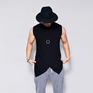 Wholesale Free Shipping Men Clothing Bodybuilding Stringer Sport Tank Top Fitness T Shirt Muscle Guys Sleeveless Vest Tee