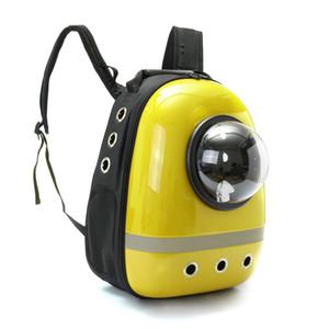 Pet Carrier Backpack Space Cat / Dog Carrier Capsule Bag Carrier Gatos y perros viajes al aire libre productos por EMS