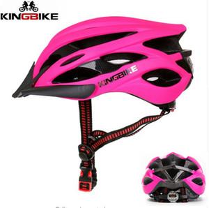 KINGBIKE Light Cycling Helmet Bike Pink Ultralight helmet Intergrally-molded Mountain Road Bicycle MTB Safe Men Women