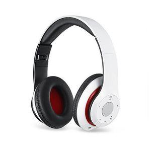 Fone de Ouvido Bluetooth Dobrável Música Headband Sem Fio Bluetooth 4.0 Microfone Estéreo Fone de Ouvido para Esportes Escritório Gaming Suporte TF Cartão de LT