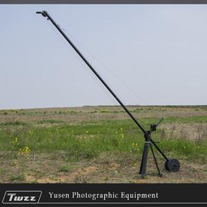 venta al por mayor 4 m brazo de elevación de la cámara video Grue Jib Crane Rocker Arm para DSLR Película Película Largometraje extraíble