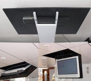 """НОВЫЙ дистанционные 32-70"""" LCD TV потолок лифт вешалки электрического подлинной токарь, вращающийся креплению скрытого потолка лифт 220"""