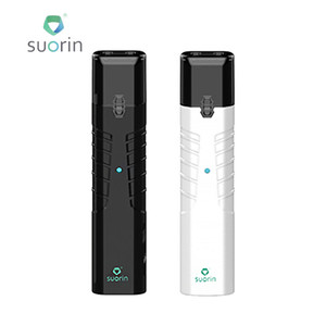 Originale kit di avvio singolo Suorin IShare 130mAh Cartuccia ricaricabile con base di caricatore USB di stoppino in cotone E-cig Starter Kit
