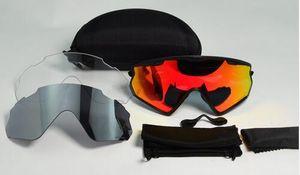2018 Hombres Mujeres 3 Lente Al aire libre Deporte Bicicleta Gafas de bicicleta Ciclismo Gafas de sol Cyling Gafas Gafas de ciclismo Gafas de nieve Gafas