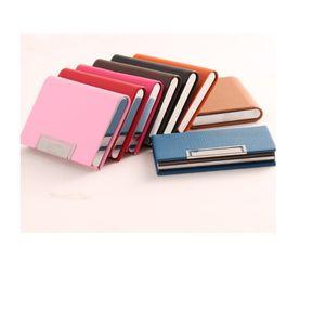Women Men Wallets Credit card holder business card sets business aluminum wallet card sets cash metal money clip holder wallet free shipping