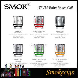 SMOK TFV12 младенца Prince Coil TFV8 Детские Beast New Катушки Q4 T12 Mesh Катушки T12 Light Coil Более плотные облака 100% Origina