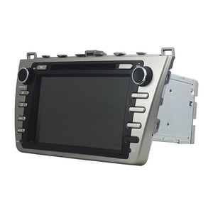 Car DVD player for Mazda 6 Ruiyi 2008-2012 8Inch Octa-core 2GB RAM Andriod 6.0 with GPS, Bluetooth, Radio