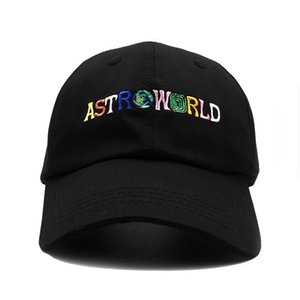 Scott ألبوم آخر ASTROWORLD Dad Hat 100٪ قطن جودة عالية تطريز Astroworld Baseball Caps Unisex Travis Scott