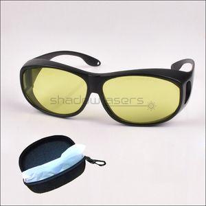 SDLasers T3S4 نظارات السلامة 405nm الأرجواني 450nm مؤشر الليزر الأزرق الأشعة تحت الحمراء ليزر 808nm 980nm 1064nm الليزر الأشعة فوق البنفسجية نظارات حماية العين