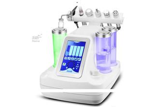 5,6,7 in 1 bio rf 콜드 해머 수경 미세 박피술 워터 하이드라 dermabrasion 스파 얼굴 피부 모공 청소기 무료 DHL