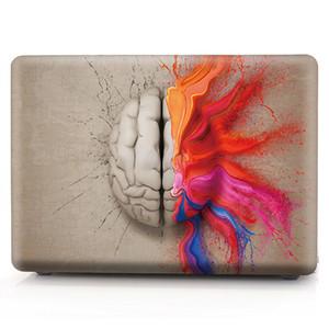 Beyin-3 Yağlıboya Kılıf Apple Macbook Hava 11 için 13 Pro Retina 12 13 15 inç Dokunmatik Bar 13 15 Laptop Kapak Kabuk