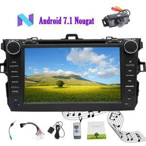 Eincar Android 7.1 Car Stereo Car DVD Player para Toyata Corolla (2007-2013) 7 Polegada Octa Núcleo Duplo 2Din Em Dash Suporta o Interruptor