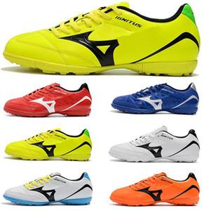 Envío gratis 2019 Monarcida Neo Mix TF Hombres de fútbol Botines Copa Mundial Botas de fútbol Nuevo estilo de tacón bajo para hombre Los mejores zapatos de fútbol
