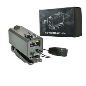 LE032 Mini Lazer Telemetre ile Taktik 700 M Uzaklık Ölçer Avcılık için Ayarlanabilir Kapsam Dağı Rilfe Kapsam 20mm Ray için