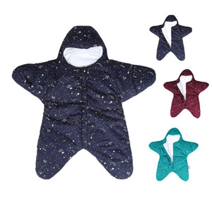 Baby Cute Star Sleeping Bag Newborns Bed Prowdle Booket Wrap Starfish Newborn Prams Bed Swaddle постельное белье