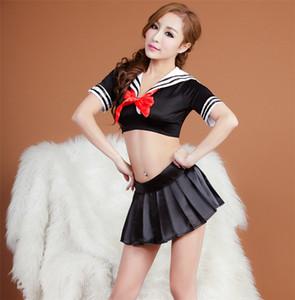 클래식 그리드 섹시 한 학교 유니폼 여성 섹시 한 란제리 학생 유니폼 유혹 플러스 크기 높은 품질