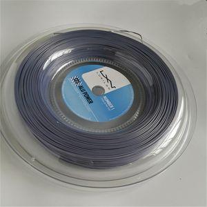Горячие Продаем высокого качества LUXILON Big Banger Alu Мощность теннисную ракетку Строка 200м Серый цвет же высокого качества, как в исходном Luxilon Строка