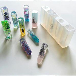 Силиконовые формы DIY смолы ювелирные изделия кулон ожерелье кулон плесень смолы формы для ювелирных изделий
