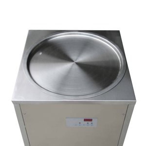 Free shipment 50cm pan Thai instant stir ICE CREAM MACHINE FRIED ICE CREAM MACHINE w refrigerant,auto defrost,PCB of smart Temp controller