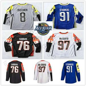 Central Division 2018 All-Star-Trikots Jason Zucker Corey Crawford Nathan MacKinnon 76 Subban Scheifele Vladimir Hockey-Trikot