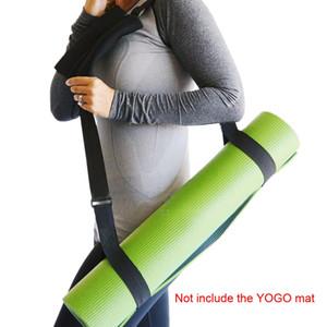 1pc Durable Yoga Mat Elastic Carry Strap Multi funzionale Fitness Yoga Strap Poliestere Accessori Pilates Mat Sling