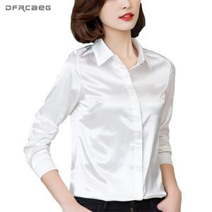 DFRCAEG Plus Taille Vêtements Pour Femmes 2017 Nouvelle Mode Blouse À Manches Longues Blusa Feminina Printemps Mince Femmes Chemises 7 Couleurs Femmes Tops