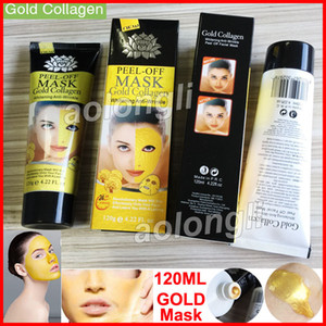 Cleaner Peel Off Face Free Deep Blackhead Minerals Golden Collagen Masks Cleansing 120mL Mask Facial Mask Gold Mask DHL Pore Shipping Btjna