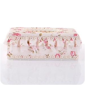 Tissue Box Campagna Tessuto di Pizzo Arte Eco Friendly Tovagliolo Custodia Arredamento Per La Casa Auto Porta Asciugamani di Carta Decorazioni Da Tavola 5 4yj ff