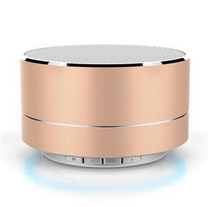 2021 Новая популярная мода Новая металлическая текстура Bluetooth-динамик радио Reveil Subwoofer Car Enceinte Bluetooth портативный головоломкий громкоговоритель 3.0