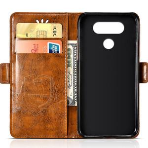 Portefeuille en gros fente Flip Case Pour LG V20 V30 Cas Flip Pour LG X Power X Power 2 Couverture Soft Mobile Phone Bag De Protection Shell