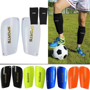 Livraison gratuite Soccer Shin gardes Football Shin Pads chaussettes pour les sports Shin Protector Leg Support pour les enfants adultes
