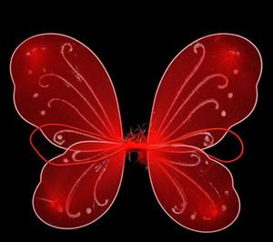 Kind-Mädchen-Prinzessin Fairy Butterfly Wings Halloween-Abendkleid-Kostüm-nette Baby-Kleid-Partei liefert 20pcs / lot GA359