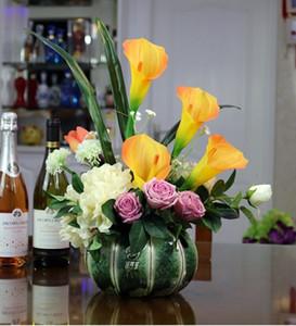 100% brandnew diy presente alta quailty home decor arranjo de flores desktop decoração recipientes de água vaso de mesa para casa objetos decorativos