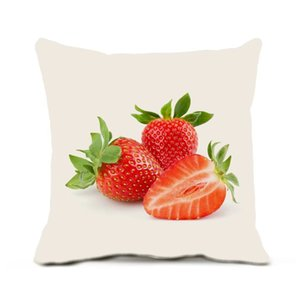 Throw Pillows Covers Cushion Case 18 X 18 Inches Pack Of 1 Delicious Fruit No Pillow Core Insert