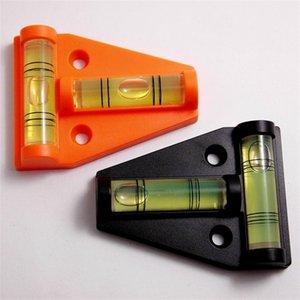 T Type Gradienter Bolha Horizontal Bolha De Nivelamento Dimensional Mini Furo De Montagem De Pedestal De Nível De Plástico Eco Friendly 1 8wm gg