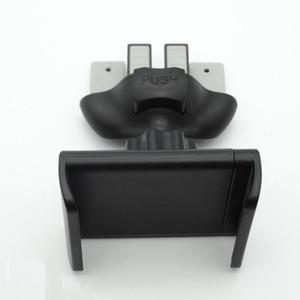 Ranura de CD + Soporte de clip de soporte de ventilación de aire para automóvil Soporte para GPS Teléfono móvil iPhone Galaxy S9 360 grados de rotación con caja al por menor