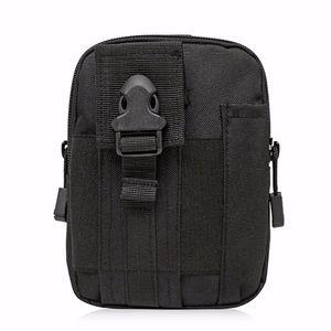 Высокое качество мужчины сотовый телефон кошелек сумка Military езда Прочный Путешествия Vintage Casual Nylon Hip Bum талии Fanny Pack